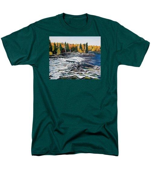 Wood Falls 2 Men's T-Shirt  (Regular Fit)