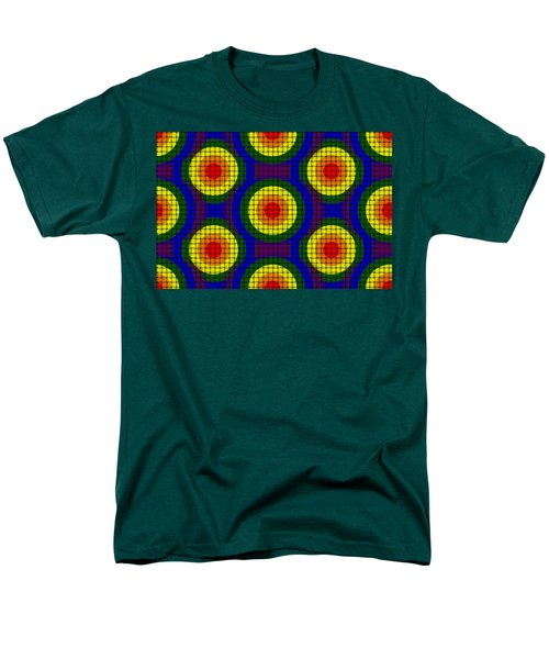 Woven Circles Men's T-Shirt  (Regular Fit) by Bartz Johnson