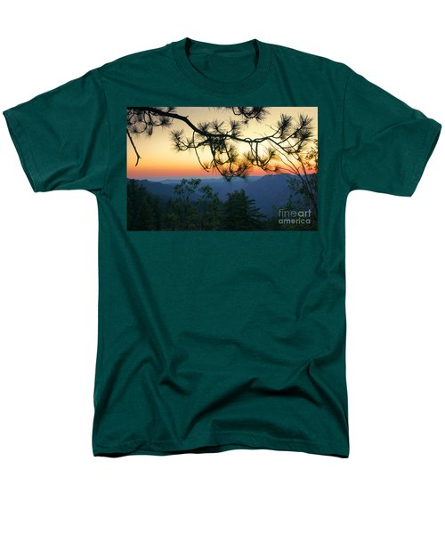 Yosemite Dusk Men's T-Shirt  (Regular Fit) by Ellen Cotton