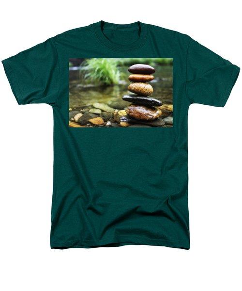 Zen Stones Men's T-Shirt  (Regular Fit) by Marco Oliveira