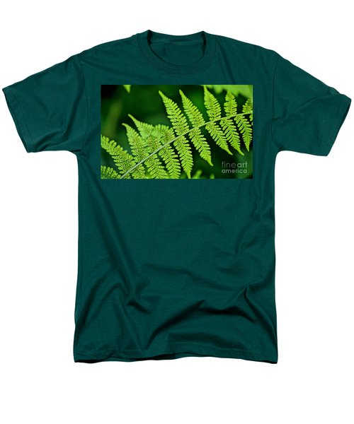 Men's T-Shirt  (Regular Fit) featuring the photograph Fern Seed by Sharon Elliott