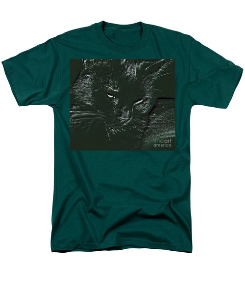 Men's T-Shirt  (Regular Fit) featuring the photograph Satin by Donna Brown