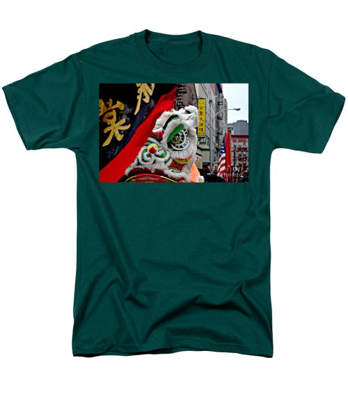 Chinese New Years Nyc  4704 Men's T-Shirt  (Regular Fit) by Mark Gilman