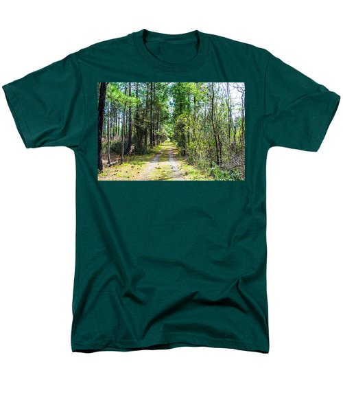 Men's T-Shirt  (Regular Fit) featuring the photograph Country Path by Shannon Harrington