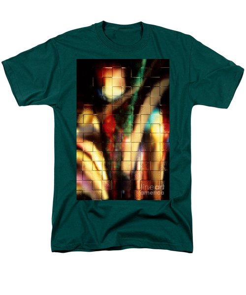 Men's T-Shirt  (Regular Fit) featuring the photograph Floral Abstract II by Sharon Elliott