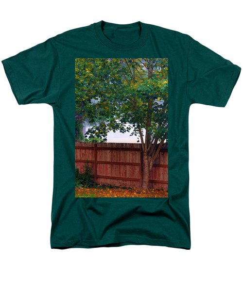 Men's T-Shirt  (Regular Fit) featuring the photograph Fog In Olympia by Jeanette C Landstrom