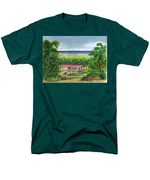 Foothills Of El Yunque Puerto Rico Men's T-Shirt  (Regular Fit) by Frank Hunter