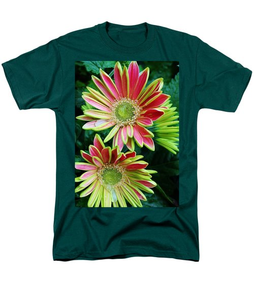 Men's T-Shirt  (Regular Fit) featuring the photograph Gerber Daisies by Bruce Bley