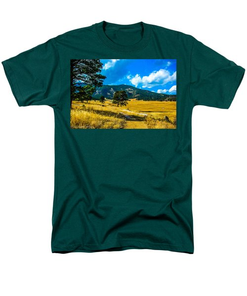 Men's T-Shirt  (Regular Fit) featuring the photograph God's Country by Shannon Harrington