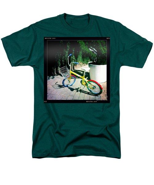 Men's T-Shirt  (Regular Fit) featuring the photograph Google Mini Bike by Nina Prommer