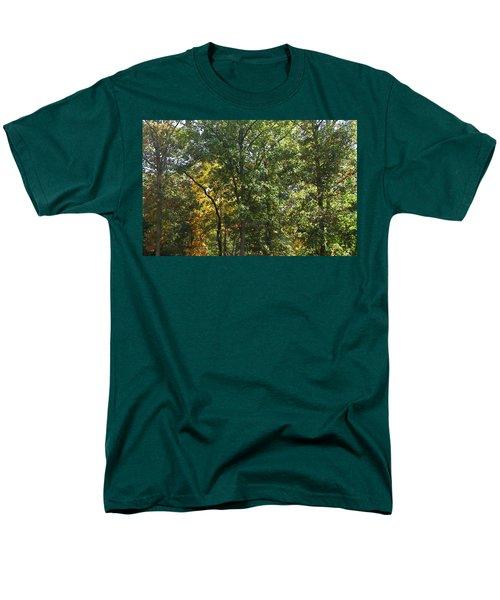 Men's T-Shirt  (Regular Fit) featuring the photograph Image Of Fall by Pamela Hyde Wilson