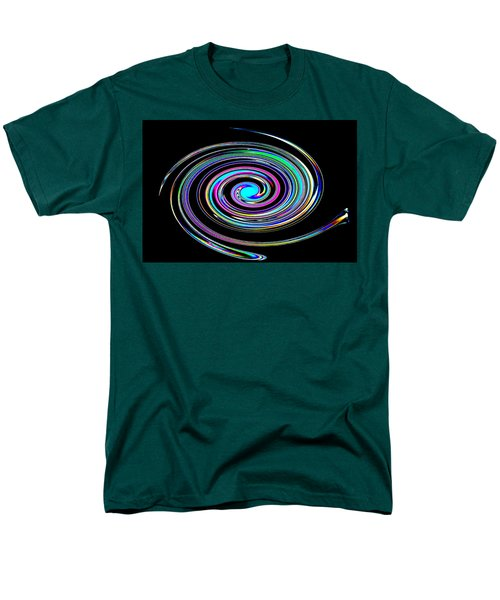 Men's T-Shirt  (Regular Fit) featuring the photograph In A Whirl by Steve Purnell