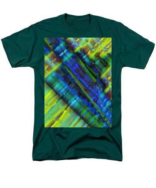 Men's T-Shirt  (Regular Fit) featuring the photograph Layers Of Blue by David Pantuso