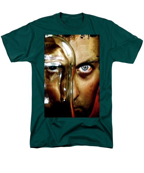 Men's T-Shirt  (Regular Fit) featuring the photograph Mad Man by Pedro Cardona