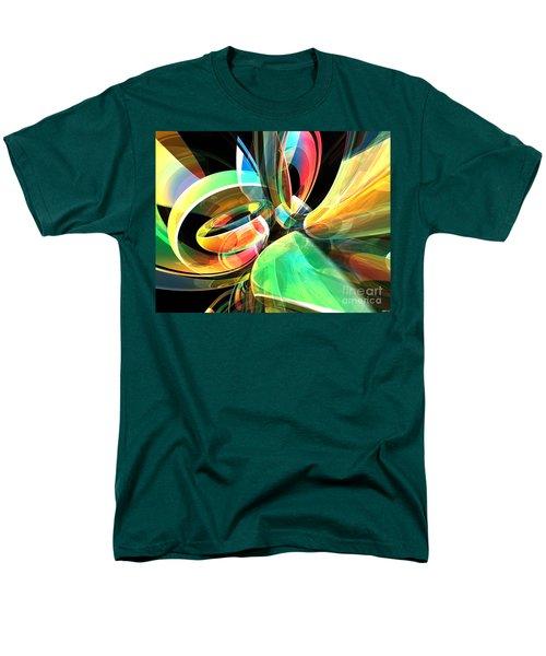 Men's T-Shirt  (Regular Fit) featuring the digital art Magic Rings by Phil Perkins