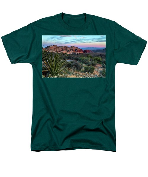 Red Rock Sunset II Men's T-Shirt  (Regular Fit)
