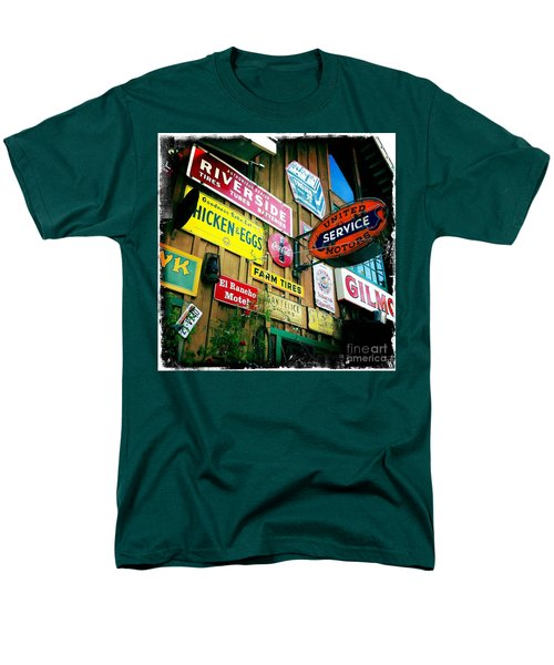 Men's T-Shirt  (Regular Fit) featuring the photograph Signs Of A Great Place by Nina Prommer