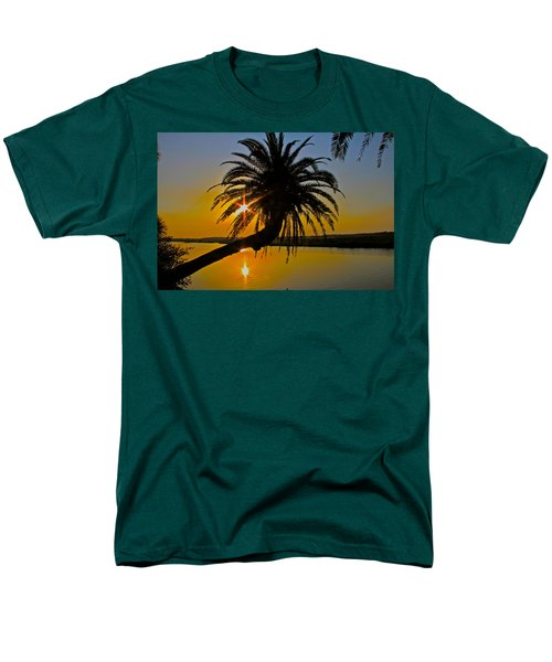 Men's T-Shirt  (Regular Fit) featuring the photograph Sunrise On The Loop by Alice Gipson
