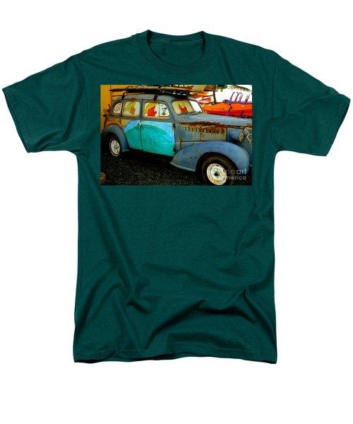 Surf Mobile Men's T-Shirt  (Regular Fit) by Mark Gilman