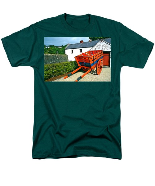 Men's T-Shirt  (Regular Fit) featuring the photograph The Cart by Charlie and Norma Brock