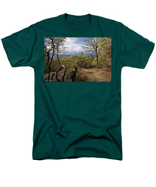 Trail At Cathedral Hills Men's T-Shirt  (Regular Fit) by Mick Anderson