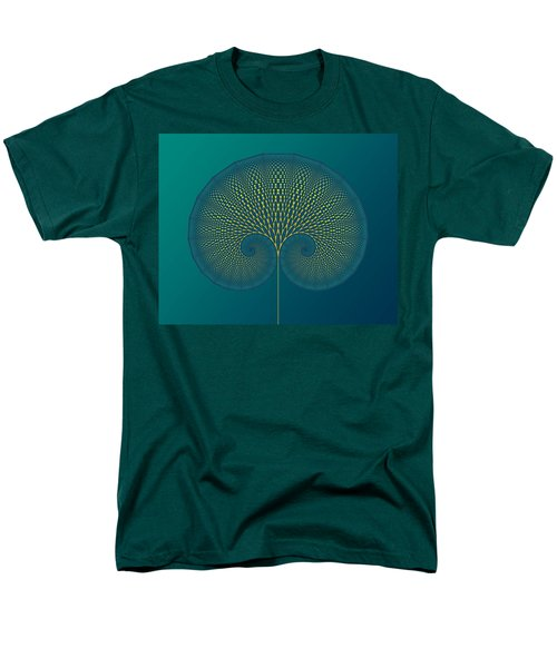 Tree Of Well-being Men's T-Shirt  (Regular Fit) by Mark Greenberg