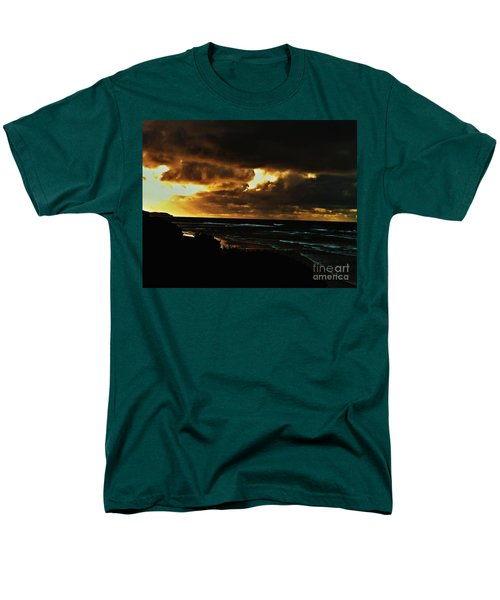 A Stormy Sunrise Men's T-Shirt  (Regular Fit) by Blair Stuart