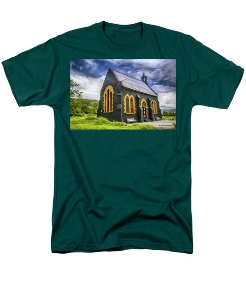 Men's T-Shirt  (Regular Fit) featuring the photograph Church by Charuhas Images