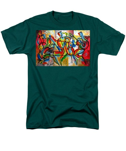 Free Jazz Men's T-Shirt  (Regular Fit) by Leon Zernitsky