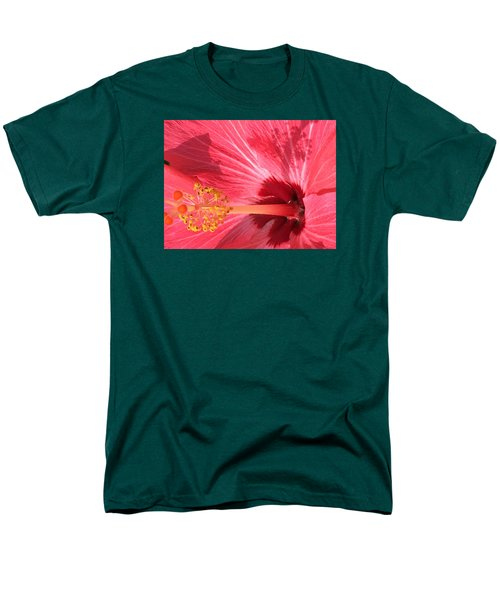 Men's T-Shirt  (Regular Fit) featuring the photograph Hibiscus by Kay Gilley