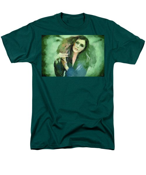 Men's T-Shirt  (Regular Fit) featuring the digital art In Vain by Gun Legler