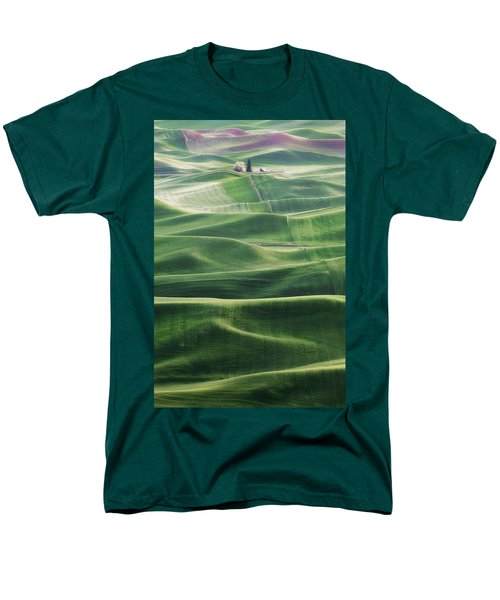 Men's T-Shirt  (Regular Fit) featuring the photograph Land Waves by Ryan Manuel