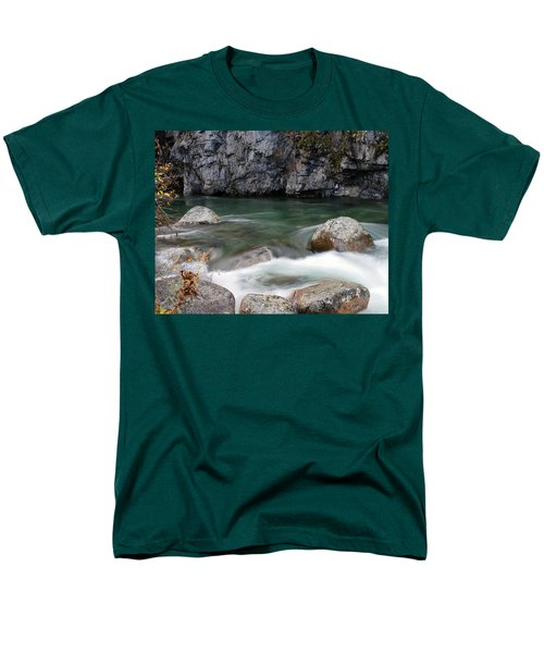 Little Susitna River Men's T-Shirt  (Regular Fit) by Doug Lloyd