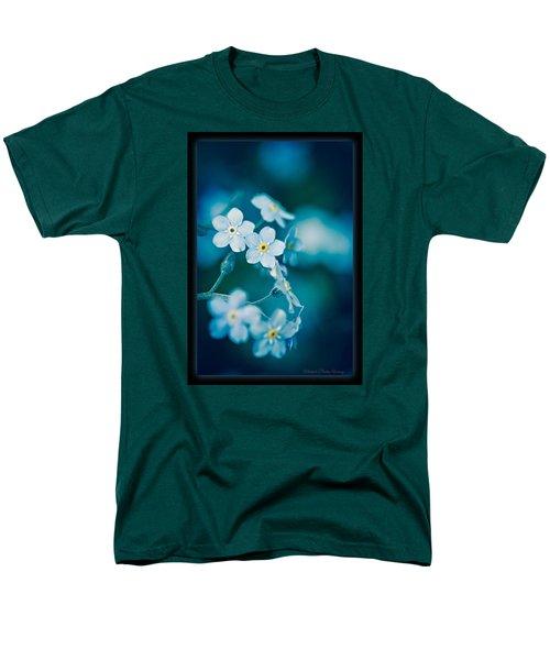 Soft Blue Men's T-Shirt  (Regular Fit) by Michaela Preston