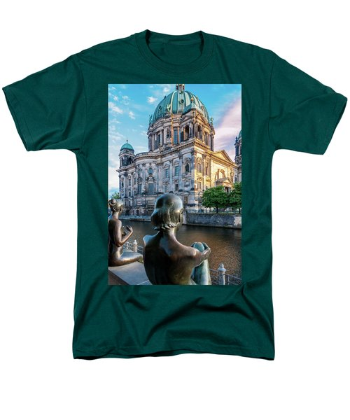 Berlin Men's T-Shirt  (Regular Fit) by Stavros Argyropoulos