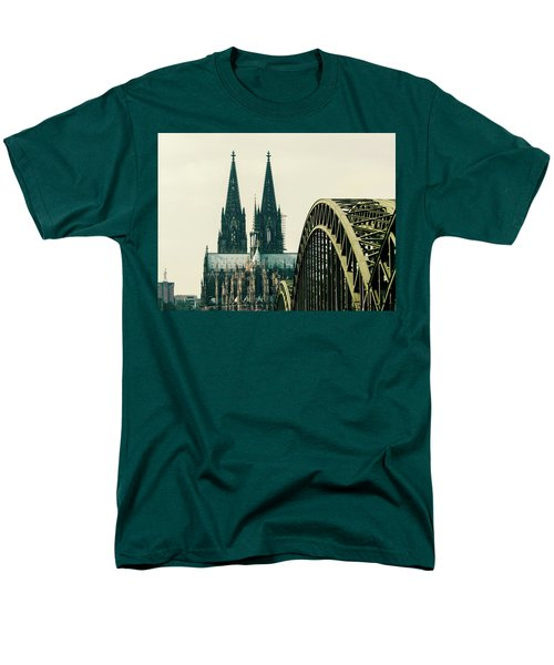 Cathedral Men's T-Shirt  (Regular Fit) by Cesar Vieira