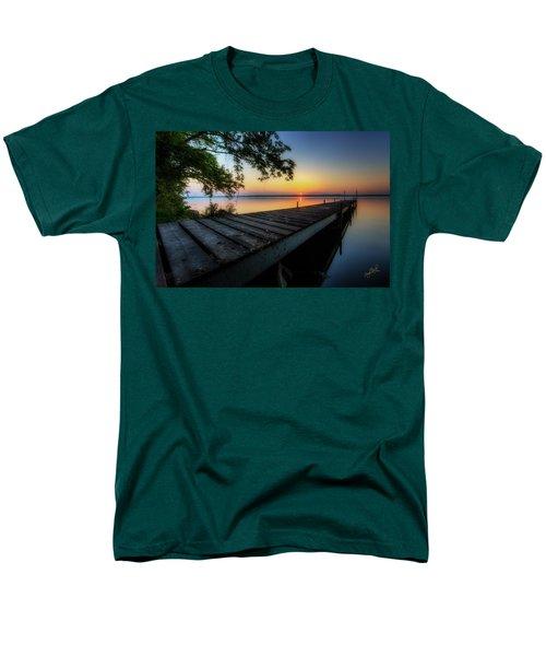 Sunrise Over Cayuga Lake Men's T-Shirt  (Regular Fit) by Everet Regal