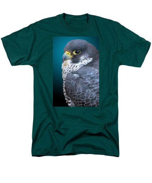 Peregrine Falcon Men's T-Shirt  (Regular Fit) by Brian Stevens
