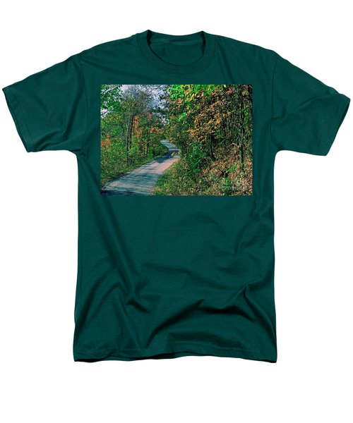 Men's T-Shirt  (Regular Fit) featuring the photograph Autumn Colors by Gary Wonning