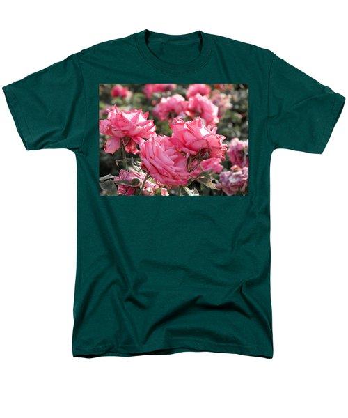 A Bunch Of Pink Men's T-Shirt  (Regular Fit) by Laurel Powell