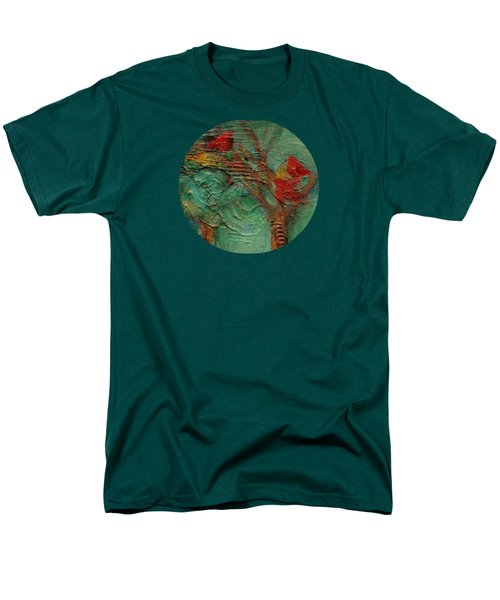 A Home In The Woods Men's T-Shirt  (Regular Fit) by Mary Wolf
