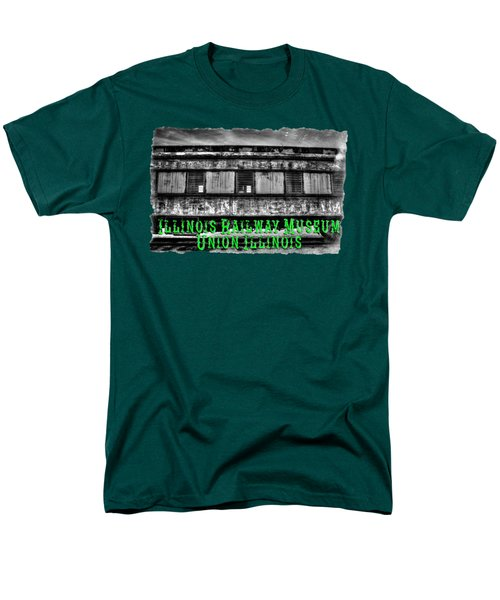 Abandoned Circus Transport Car Men's T-Shirt  (Regular Fit) by Roger Passman