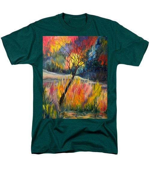 Ablaze Men's T-Shirt  (Regular Fit) by Renate Nadi Wesley