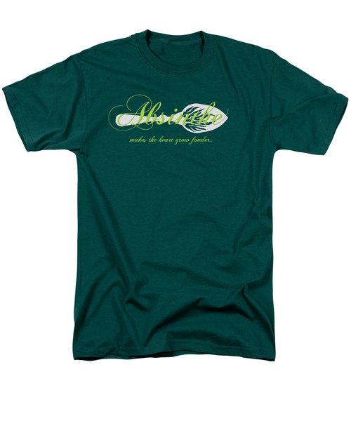 Absinthe Makes The Heart Grow Fonder - T-shirt Men's T-Shirt  (Regular Fit)