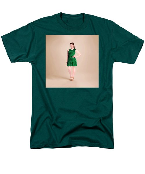 Men's T-Shirt  (Regular Fit) featuring the digital art Ainsley by Nancy Levan