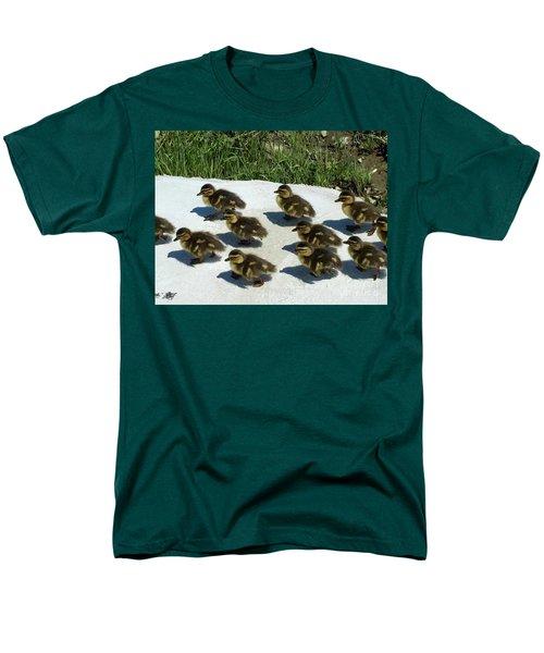All Together Now Men's T-Shirt  (Regular Fit) by Beth Saffer
