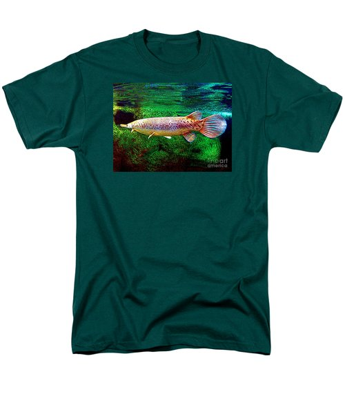 Alligator Gar Fish  Men's T-Shirt  (Regular Fit) by Merton Allen