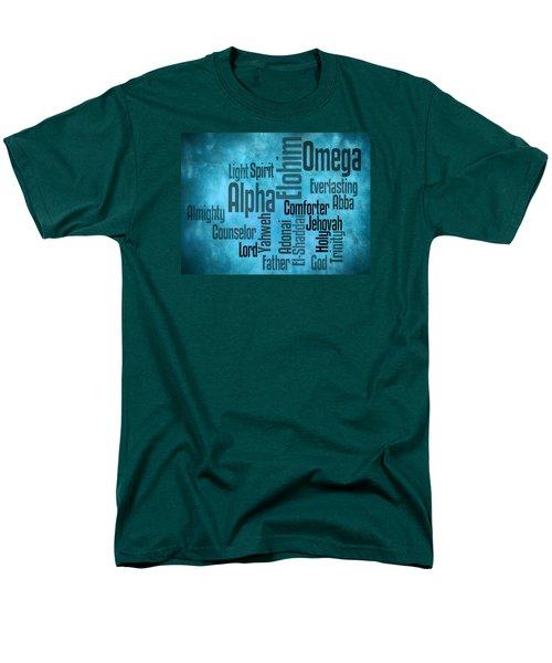 Men's T-Shirt  (Regular Fit) featuring the digital art Alpha by Angelina Vick