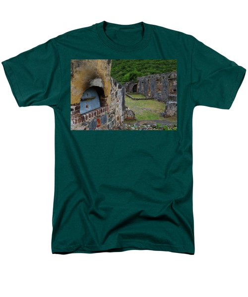 Men's T-Shirt  (Regular Fit) featuring the photograph Annaberg Sugar Mill Ruins At U.s. Virgin Islands National Park by Jetson Nguyen