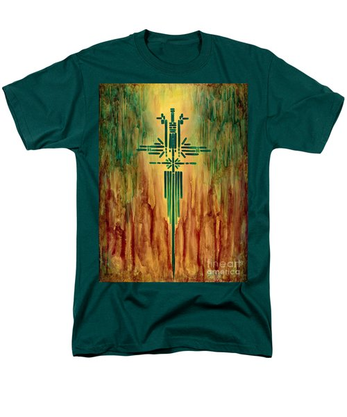 Archangel Michael Men's T-Shirt  (Regular Fit)